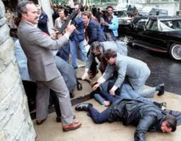 Assassination Attempt on U.S. President Reagan
