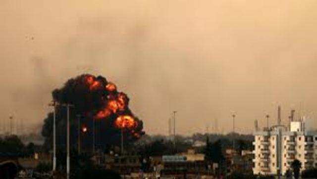 U.S. Bombs Libya