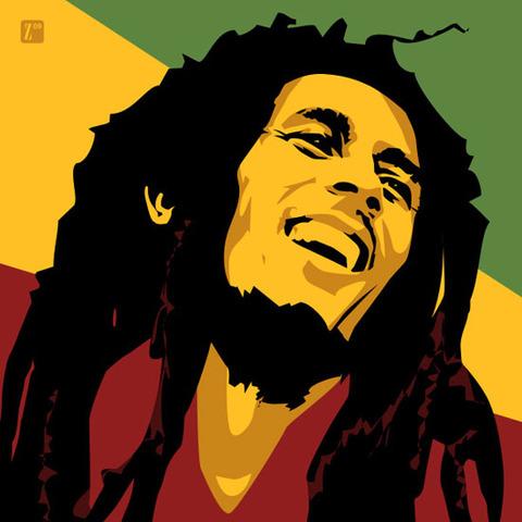 The death of Bob Marley