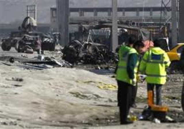 Suicide Bombers attack US peace keepers in Lebanon,