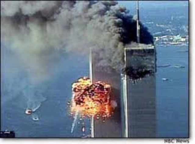 Terrorist attacks on world trade centers in new york