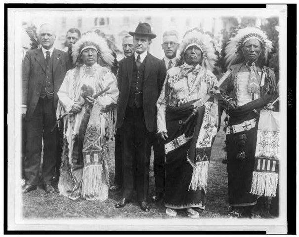 1924 Congress passes the Indian Citizenship Act