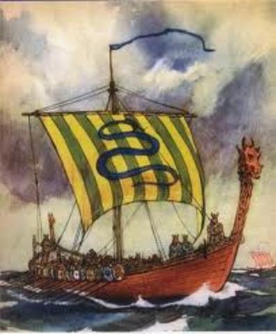 Lea Vikings abandonnent la colonie de Vinland