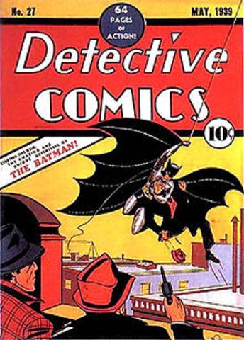 First Batman Comic