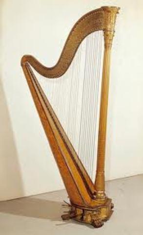Flauta y Arpa 4000 a.c