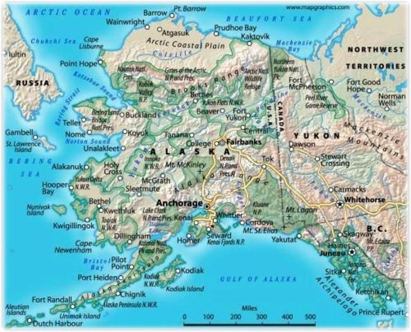 William Seward buys Alaska
