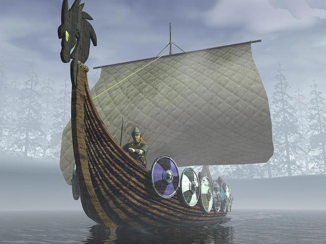 Échec d'un raid viking à Séville (Espagne)