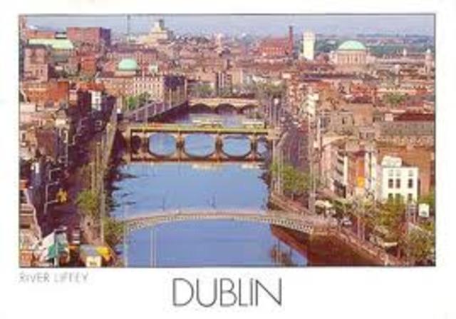 Fondation de la ville de Dublin en Irlande par des colons vikings