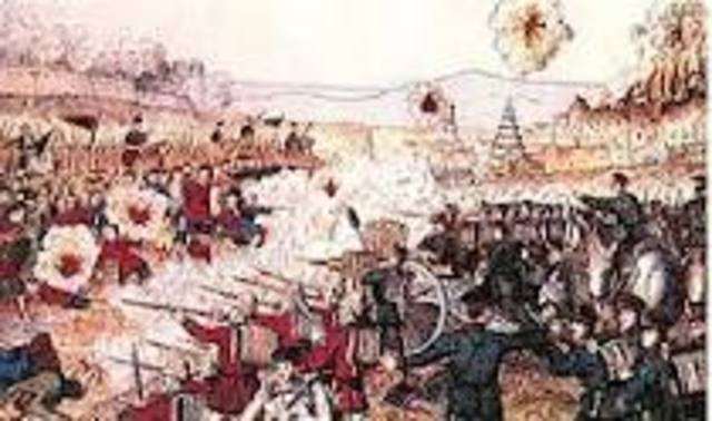 Eight Nation Alliance was created in order to Supress the Boxer Rebellion