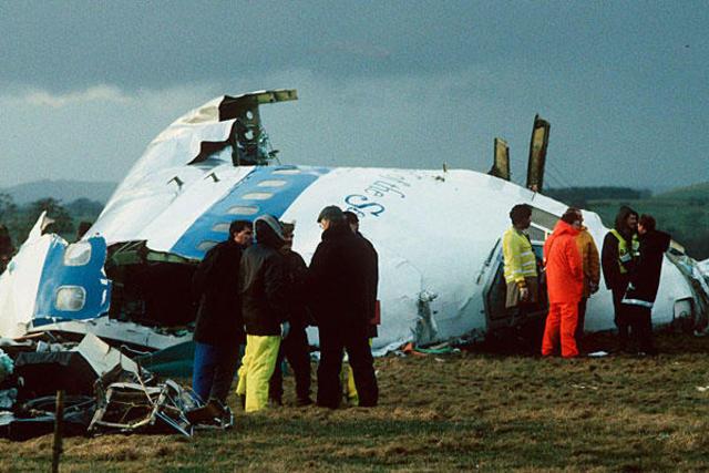 Pan Am Flight 103 Is Bombed Over Lockerbie
