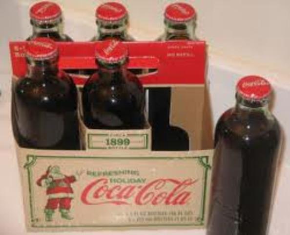First bottle 1905-1918