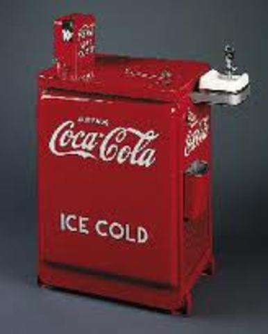 first coin vending machine