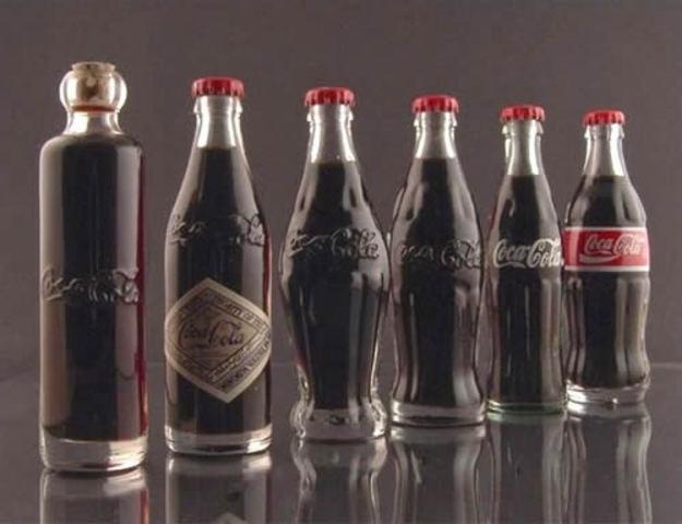 coca cola in bottles