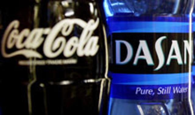 dasani joins coca cola
