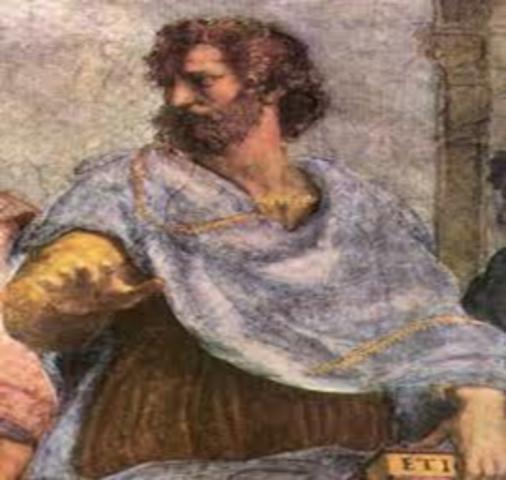 ARISTOTELES (- 384 a - 322)