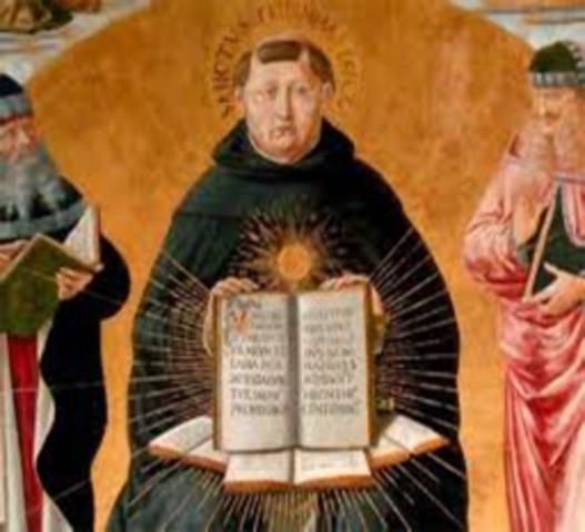 SANTO TOMAS (1225 - 1274)
