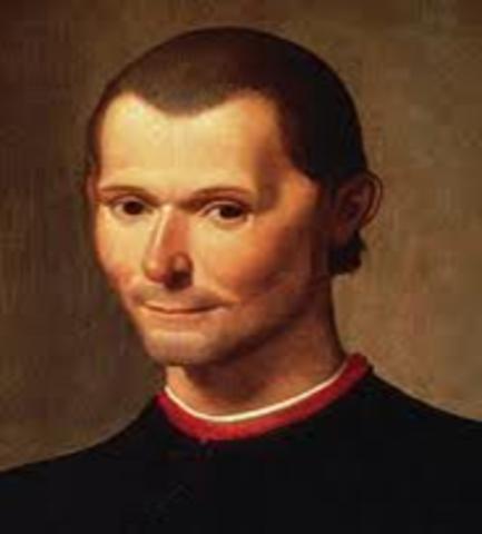 NICOLAS MAQUIAVELO (1469-1527)