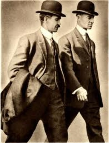 Wright Brothers fly first Airplane.