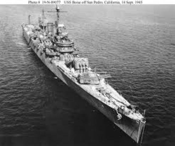 The USS Niblack attacked German U Boat
