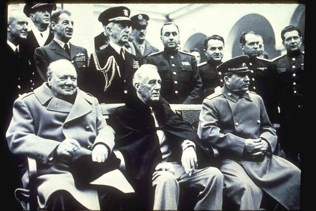 The Yalta Conference.