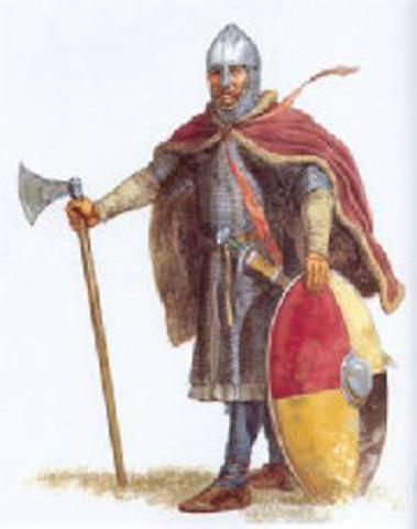Les Vikings quitte Vinland