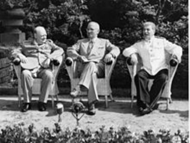 The Potsdam Conference.