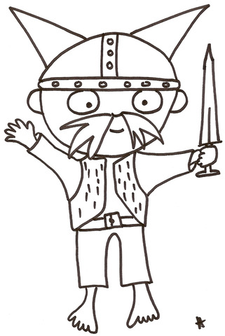 Début des attaques des Vikings en Angleterre