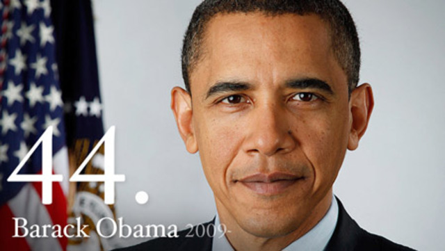 First black Pres. assumes office