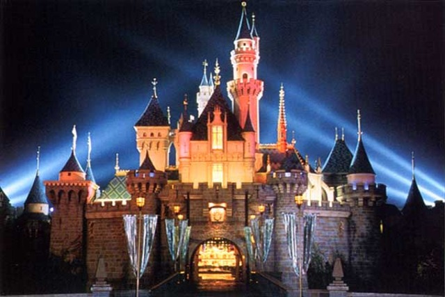 Construction of Disneyland begins