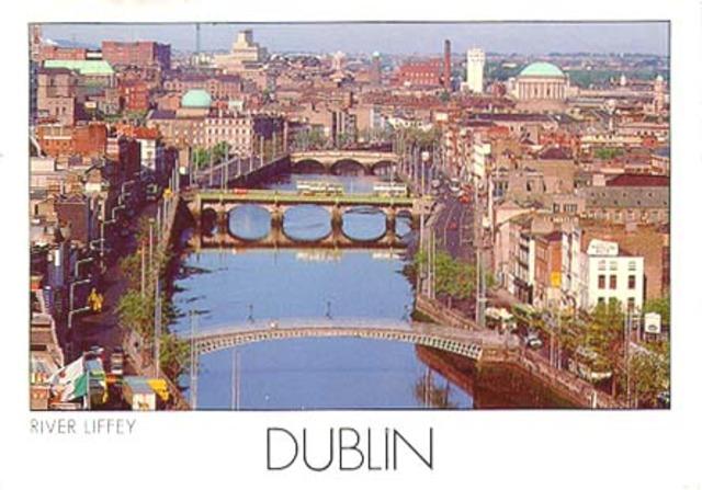 840 -Fondation de la ville de Dublin en Irlande par des colons vikings