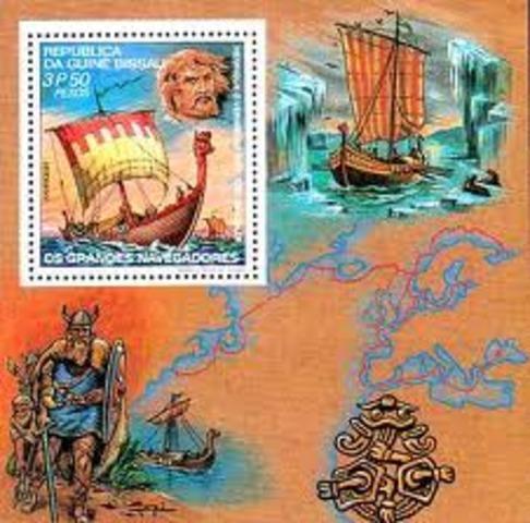981 -Le chef viking Erik le Rouge découvre le Groenland.