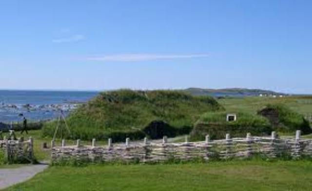 986 -Des voiliers vikings arrivent à Terre-Neuve.