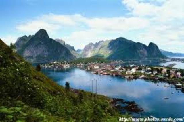 1000 -La Norvège est sous la domination des Danois.