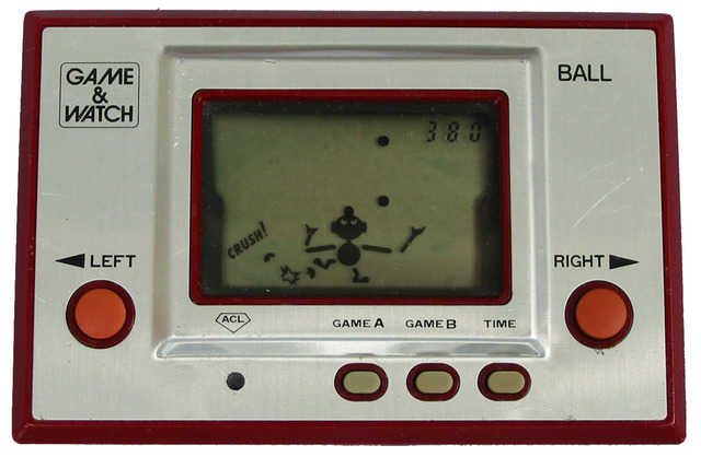 The First Handheld Gaming System, The Game & Watch: Ball was Releaesd