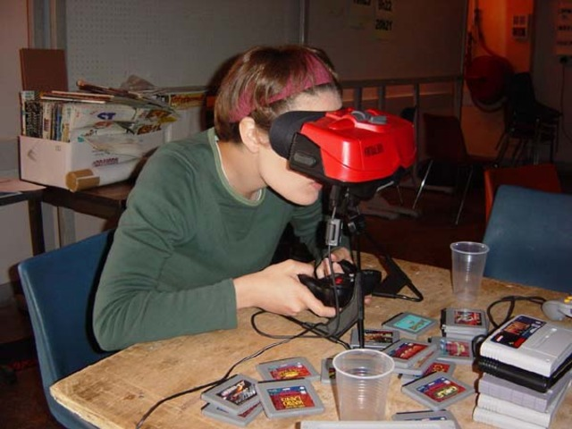"""The Virtual Boy """"Portable"""" System is Released, Only to Be Pulled From Shelves One Year Later Making It One of the Biggest Flops of the Gaming Empire"""