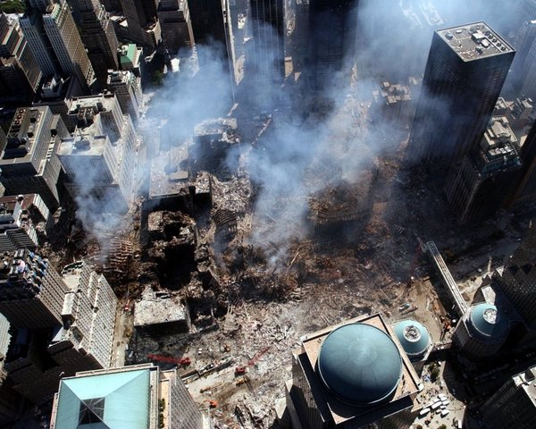 Three Planes are Hi-Jacked and are Crashed Into the World Trade Centers, the Pentagon, and a Field in Pennsylvania