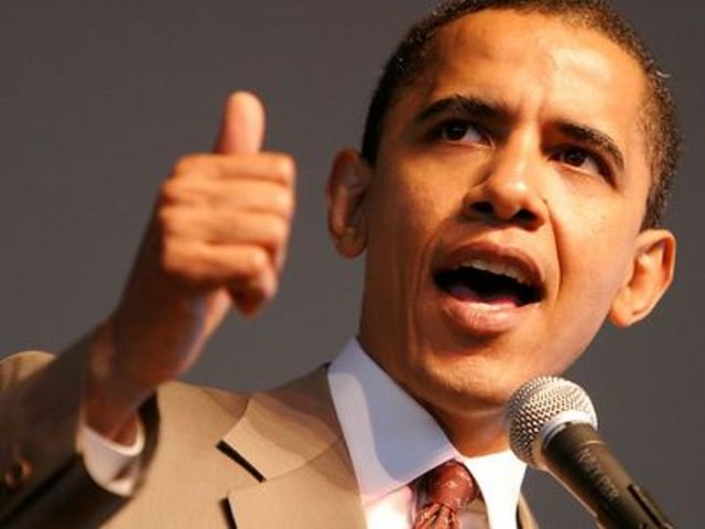Barack Obama is Inducted Into Office Making Him the First African American President