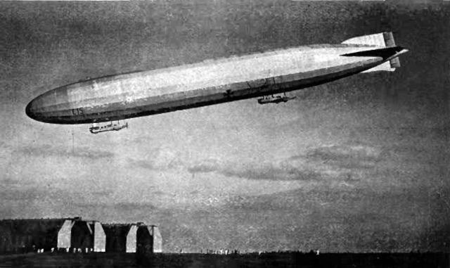 First German Air Raid on England