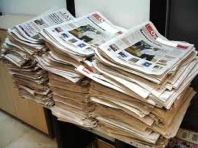 Se restablecio la primera edicion del primer periódico