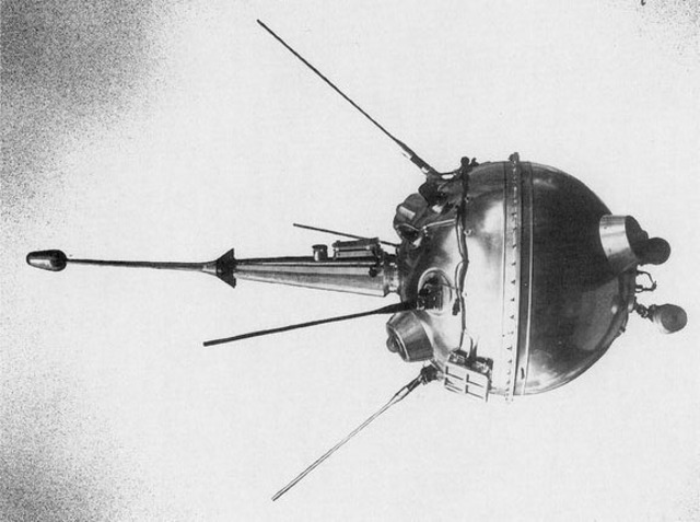 First man-made object to impact the moon