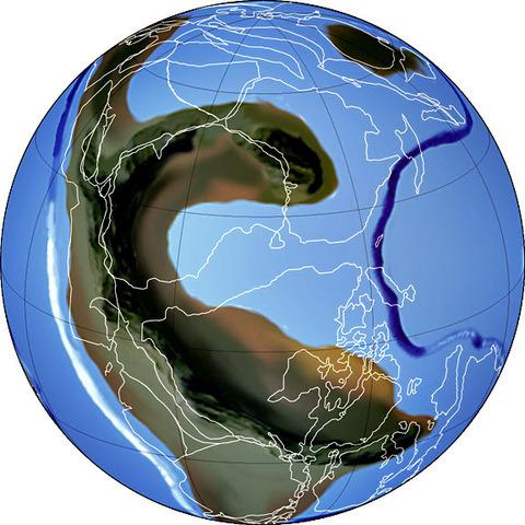 Rodinia  1 miljard år sedan