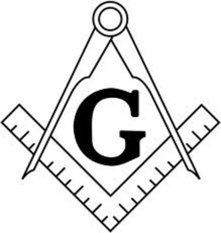 Became a Freemason