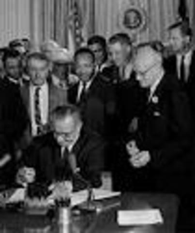 Congress outlaws segregation