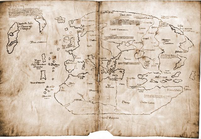 Les Vikings abandonnent la colonie de Vinland sur la cote estde l'Amerique du Nord