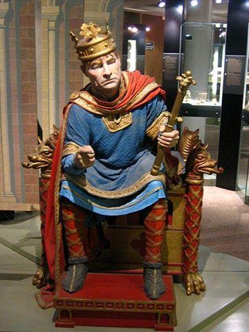 Edouard le Confesseur regne sur l'Angleterre