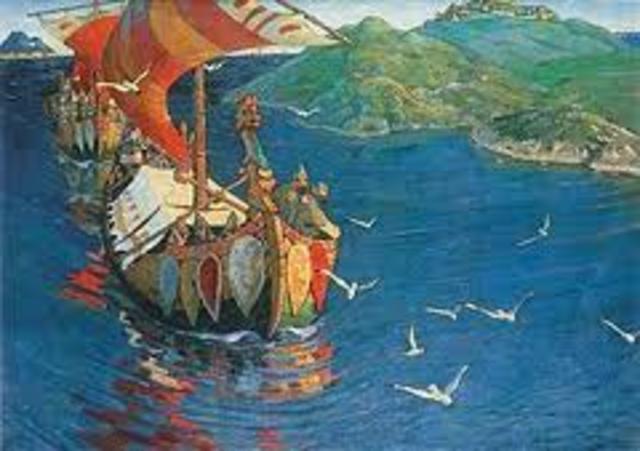 900 - raids des viking le long de la cote mediterraeenne