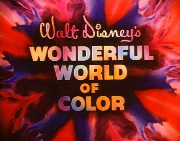 First Color TV Show