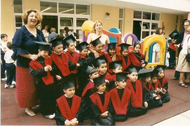 Nuestra primera graduación.