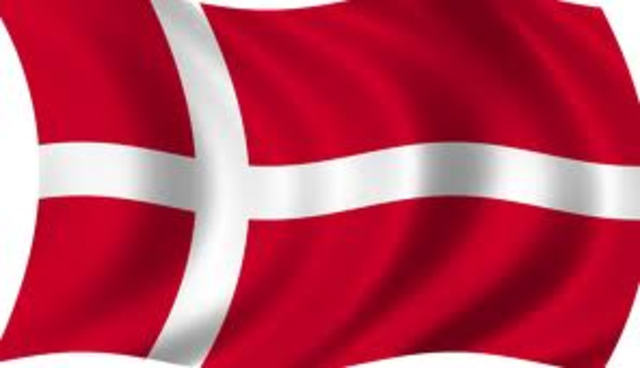 Conquete de l'Angleterre par les Danois