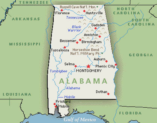 Alabama Secedes From the Union
